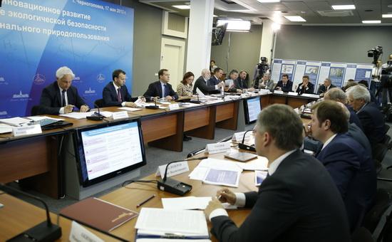 Заседании президиума Госсовета при Президенте РФ